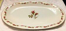 "Vintage Eschenbach China Bavaria Germany 15"" Oval Serving Platter P485 Pattern"