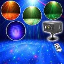 Mini RG Dots Laser Aurora Projector Light RGB LED DJ Party Show Stage Lighting