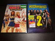 BRING IT ON-ALL OR NOTHING & PITCH PERFECT 2-Two movies-HAYDEN PANETTIERE-Fun!!
