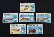nystamps British Qatar Stamp # 478-483 Mint Og H/Nh $65 J15y3242