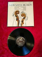 "The Waltzes Of Strauss In Hi-Fi record 12"" 33 RPM LP Vinyl Record VG #13"