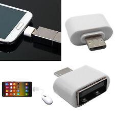 MICRO USB mâle vers USB Femelle OTG ADAPTATEUR CONVERTISSEUR pour téléphone