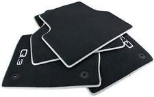 Audi originales tapices q3 sq3 8u gamuza S-line premium auto alfombras nobuck silb