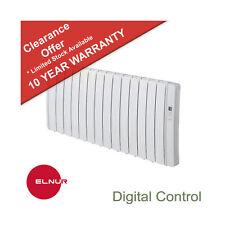 Electric Radiator 2000W Oil Free Digital Keypad Manual Controls  Elnur RKS14Hi