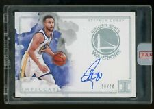 2018-19 Panini Impeccable Stephen Curry Signed AUTO 10/10 Warriors