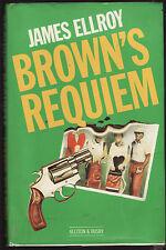 JAMES ELLROY - BROWN'S REQUIEM    FIRST EDITION