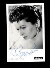 Eve Boswell Autogrammkarte Original Signiert ## BC 134540