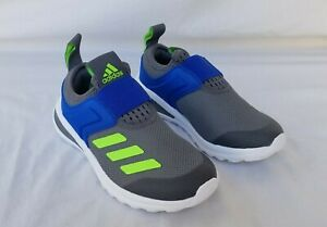New Kids Adidas Active Ride PS Running Shoes FY2832 Grey/Green/Blue