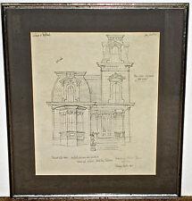 Bernique Longley Rendering of Santa Cruz California Victorian Home