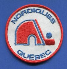 """Quebec Nordiques Round 3"""" Embroidered Patch - 13161"""