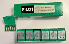 PILOT MS-10 ERASER REFILLS FOR MECHANICAL PENCILS TWELVE PACKS of 5, 60 total