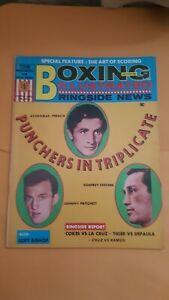 Vintage Boxing Illustrated Ringside News Magazine: Jan 1969. Peralta, Stevens.