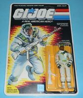 *RECARDED* 1986 GI Joe Iceberg v1 Figure Complete Sealed *CUSTOM File Card Back*