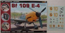 Messerschmitt Bf 109 E-4 - TOPSHOTS,  KAGERO + Free Decals