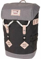 Doughnut Rucksack Backpack Colorado Small Black Grey 15L
