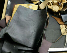 New listing 3 lbs of Horween Cowhide Leather Scraps for Leathercrafts, Mixed Colors.