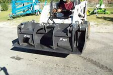 "Skid Steer 72"" Grapple Bucket,Bradco HD,Weighs 835 Lbs,Fits Bobcat,Cat,Case,All"