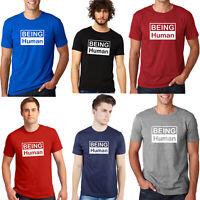 New Arrival Men's Cotton T shirt Being Human Salman Khan fan Tshirt Birthday