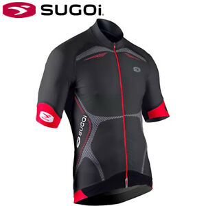 Sugoi RSE Mens Cycling Jersey - Black/Red