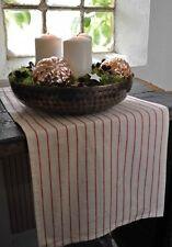 Gestreifte rechteckige Tischdecken aus Baumwollmischung