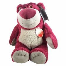 10'' Toy Story 4 Lotso Huggin Strawberry Bear Stuffed Plush Doll Gift Toy