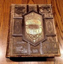 1875 The Pictoral Home Bible Sold By Subscription Only