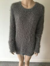 Primark - Atmosphere Eveningwear  Jumper  New With Tags  Grey - Silver