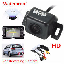 170° Car Parking Rear View Reverse Backup Camera Kit Waterproof
