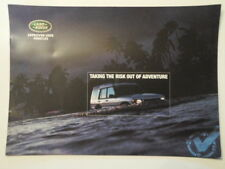 LAND ROVER 2000 Approved Used Vehicles Brochure - Discovery Defender Range etc