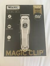Wahl Cordless Magic Clip Metal Ltd Edition *UK SELLER *
