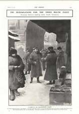 1905 Alexandrovsky Market Selling Trousers General Kuroki Surrounded By Family