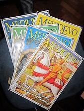 RIVISTA MEDIOEVO  VARIE ANNO 2003, 2002,2001, 1997  (P1)