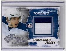 NIKOLAI KULEMIN 11/12 ITG Forever Rivals GOLD Jersey M-08 SP /10 Maple Leafs