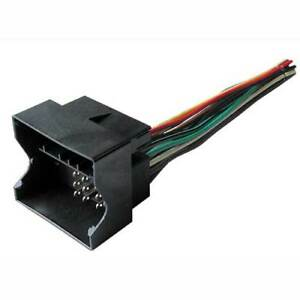 Aftermarket Radio Stereo Install Wire Wiring Harness Cable Dash OEM Plug Adapter