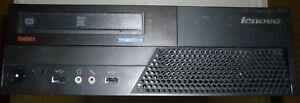 Lenovo M58 7360-NN4 SFF Quad-Core Q8400/4GB DDR3/Win7HP 64bit COA Working/no HDD