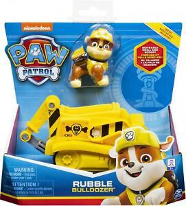 Paw Patrol Rubble Bulldozer Vehicle & Figure Set