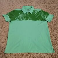 EUC OAKLEY - Men's Green Polo GOLF Shirt Large