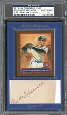 2013 Historic MIKE KREEVICH Autograph Card Cut PSA/DNA Authenticated Auto /25