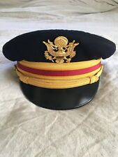 Berkshire Deluxe Military Dress Hat Size 7-1/4 Army Air Force Red Stripe