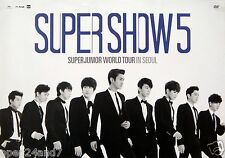 "SUPER JUNIOR ""WORLD TOUR IN SEOUL"" THAILAND PROMO POSTER- Group In Suit & Ties"