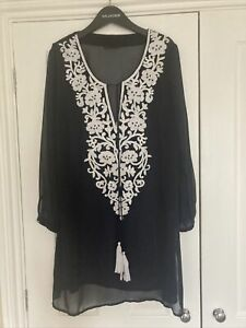 marks and spencer kaftan/beach Cover Up