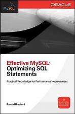 Effective MySql Optimizing Sql Statements (Oracle Press), Bradford, Ronald