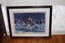 """""""The Goal Line Stand"""" by Daniel Moore 1979 Sugar Bowl Original Lithograph"""