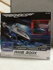 Air Hogs Axis 300x High Performance 3 Channel Remote Control RC Helicopter Blue