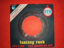 "Ayx – Fantasy Rock  – Copertina Forata Per Disco Vinile 45 Giri 7"""