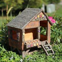 Fairy Garden, Gnome, Hobbit, Fairy's Fun House Cottage NIB