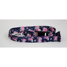 Floral Pattern Design Neck Lanyard Id Key Holder