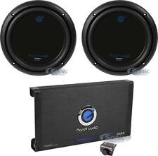 """2) PLANET AUDIO AC10D 10"""" 3000W Car Audio Subwoofers + 2600W 2 Channel Amplifier"""