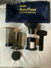 AEROPRESS COFEE MAKER WITH 350 FILTERS OPEN BOX