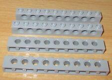 Baukästen & Konstruktion Lego Technic Lochbalken Stein 2x4 3709c alt-grau egr18 LEGO Bau- & Konstruktionsspielzeug